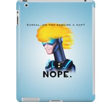 Ezreal, Do you require a map? iPad Case/Skin