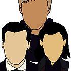 3 villains unite  by Coulblackriver