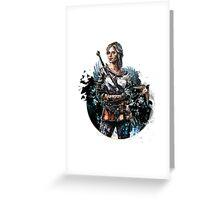 Ciri 2 - The Witcher Wild Hunt  Greeting Card