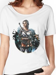 Ciri 2 - The Witcher Wild Hunt  Women's Relaxed Fit T-Shirt