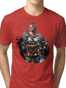 Ciri 2 - The Witcher Wild Hunt  Tri-blend T-Shirt