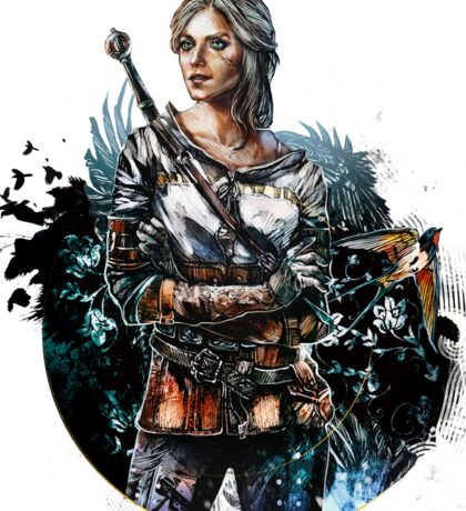 Ciri 2 - The Witcher Wild Hunt  Sticker