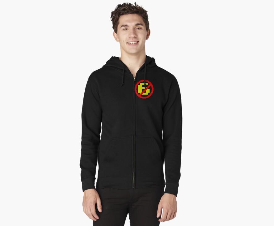 Anti-Sixer Pride hoodie split by dopefish