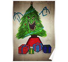Evil Christmas Tree Poster