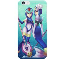Leviathan & Splash Woman iPhone Case/Skin
