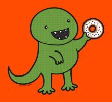 Dinosaur Loves Donuts by zoel
