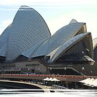 Sydney Opera House Comic-Style by SkatingGirl