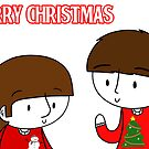 Ringo and George Card by CharlieeJ