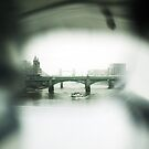 View from the Millennium Bridge, London by Olivia McNeilis