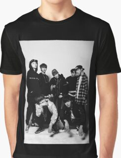 BTS COOL 当代歌坛- Black Graphic T-Shirt