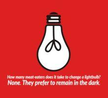 How Many Meat Eaters... Lightbulb Joke by Cosmicblueprint