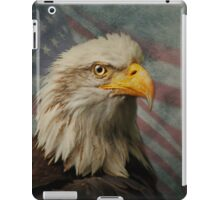 Bald Eagle and American Flag iPad Case/Skin