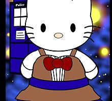 11th Doctor Who Kitty by EpicNerdom