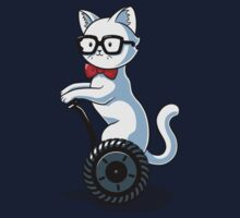 White and Nerdy Kids Tee
