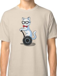 White and Nerdy Classic T-Shirt