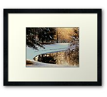 Winter Reflections   ^ Framed Print