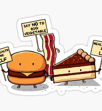 Occupy Stomach Sticker