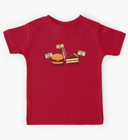 Occupy Stomach Kids Tee