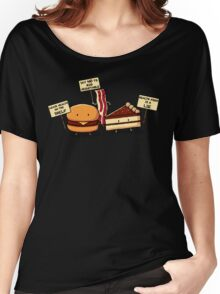 Occupy Stomach Women's Relaxed Fit T-Shirt