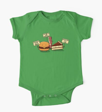 Occupy Stomach One Piece - Short Sleeve