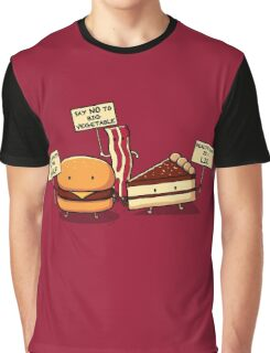 Occupy Stomach Graphic T-Shirt