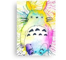 Pen and Ink Totoro Canvas Print