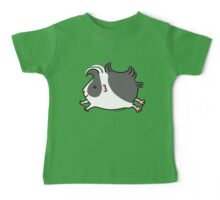 Leaping Guinea-pig ... Black and White  Baby Tee