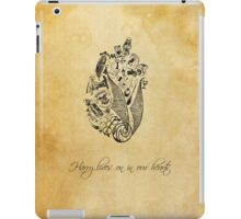 Harry Potter lives on in our hearts iPad Case/Skin