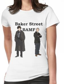 Baker Street BAMF Womens Fitted T-Shirt