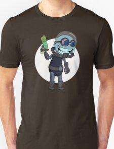 Mr Freeze heats things up Unisex T-Shirt