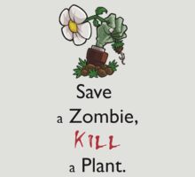 Save Zombies, kill plants. by NateSempai
