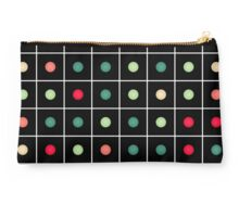 Dotted grid Studio Pouch