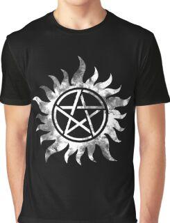 Anti-Possession (white) Graphic T-Shirt