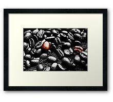 Coffee Beans SC Framed Print
