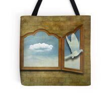 tribute to magritte Tote Bag