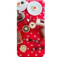 1/12th scale miniature Christmas Food iPhone Case/Skin