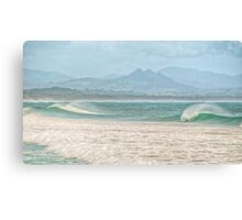 Misty Seascape - Byron Bay Canvas Print