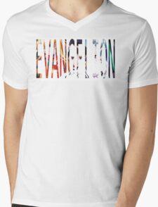 Evangelion Mens V-Neck T-Shirt
