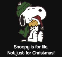 Snoopy Is For Life, Not Just For Christmas! by gemzi-ox