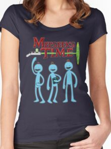 Meeseeks Time Women's Fitted Scoop T-Shirt