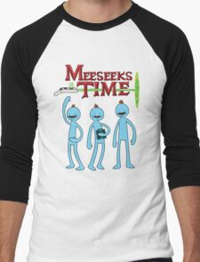Meeseeks Time Men's Baseball ¾ T-Shirt