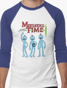 Meeseeks Time Men's Baseball ¾ T-Shirt