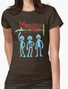 Meeseeks Time Womens Fitted T-Shirt