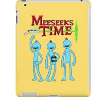 Meeseeks Time iPad Case/Skin