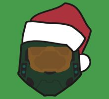 Master Chief - Santa by Braden  Stevenson