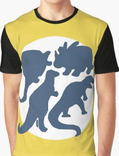 dino 4 blue! Graphic T-Shirt
