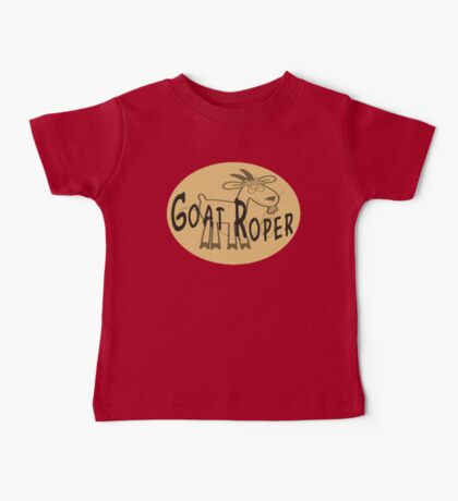 Goat Roper Baby Tee