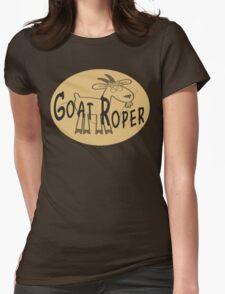 Goat Roper Womens Fitted T-Shirt