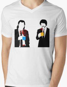 Gourmet Coffee Mens V-Neck T-Shirt