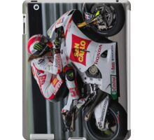 Simoncelli in Assen after the crash 2011 iPad Case/Skin